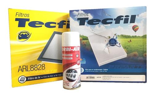 Imagem 1 de 1 de Filtro Ar / Ar Condicionado + Higienizador Gm Cruze 1.8 2014