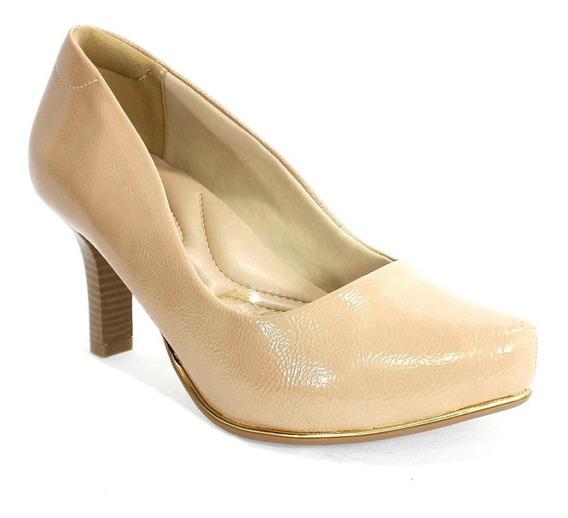Sapato Feminino Show Plus Comfortflex Avelã