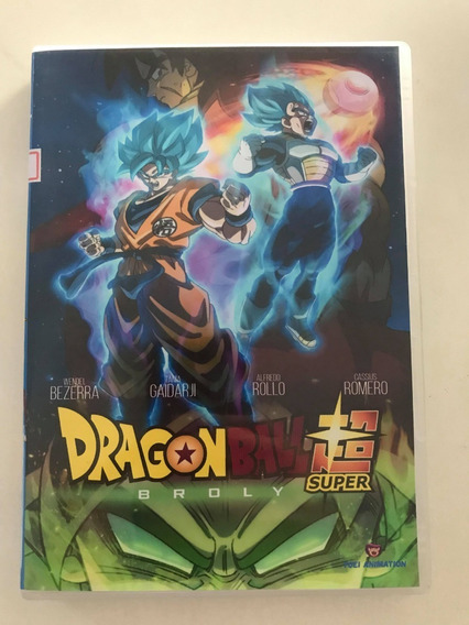 Dragon Ball Super Broly - Dvd Dublado