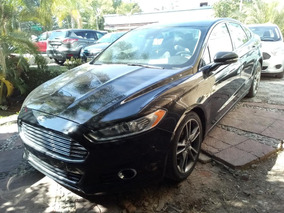 Ford Fusion 4p Titanium Plus L4 Qc Equipado