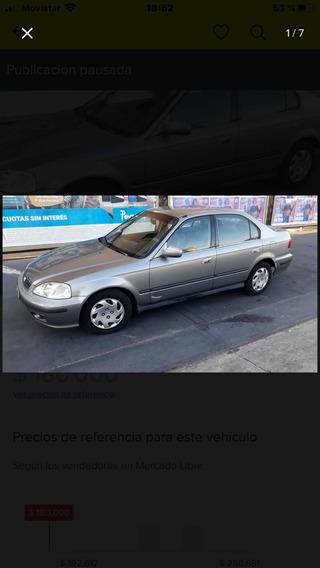 Honda Civic 1.6 Lx 2000