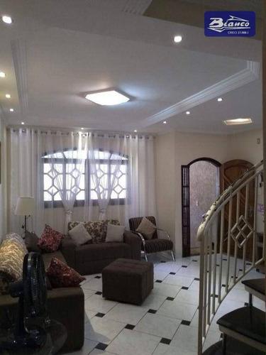 Imagem 1 de 17 de Sobrado Com 3 Dormitórios À Venda, 176 M² Por R$ 750.000,00 - Jardim Bom Clima - Guarulhos/sp - So1687