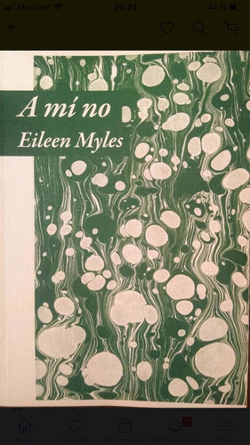 Imagen 1 de 1 de A Mi No - Eileen Myles - Triana - Lu Reads