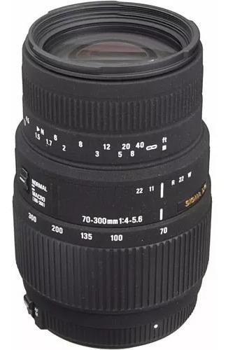 Lente Sigma Dg 70-300 F/4-5.6 Mac P/ Nikon