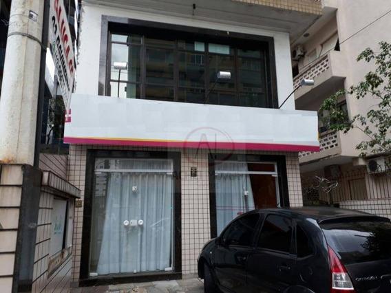 Prédio Para Alugar, 175 M² Por R$ 10.000/mês - Boqueirão - Santos/sp - Pr0036