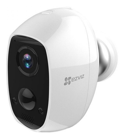 Camara Ip Wifi C3a Ezviz 1080p Hd Audio Exterior Con Bateria