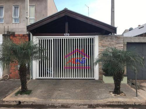 Casa Com 2 Dormitórios À Venda, 112 M² Por R$ 270.000,00 - Jardim Das Figueiras Ii - Hortolândia/sp - Ca0122
