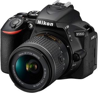 Camara Nikon D5600 Wifi + Lente 18-55 + Memoria + Bolso Nnet