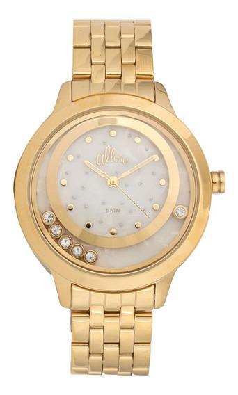 Relógio Analógico Allora 2 Caixas Al2036fgv/4b Feminino