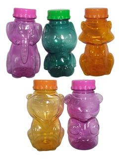 Botella Deportiva X50 Plastico Animales 400cc Colores Formas