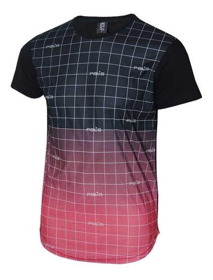 Camiseta Swag Com Estampa Degradê Original Polo Rg518