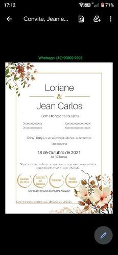 Convite De Casamento Digital