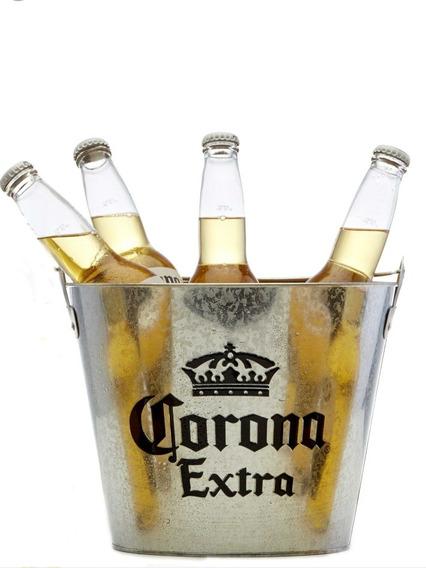 Hermosa Frapera Corona Chapa Zinc Cerveza Store Face Envios