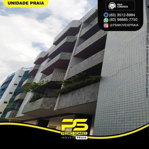 Apartamento Com 4 Dormitórios À Venda, 262 M² Por R$ 650.000 - Bessa - João Pessoa/pb - Ap4605