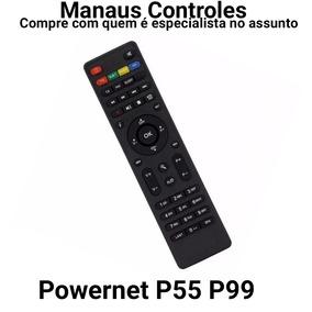 Controle Remoto Net Digital Le-7500 Versão P55/ P99 Hd