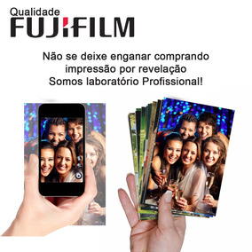 Revelação Fotos 200 10x15 Fuji Film + 2 Albuns 100 Fotos Cd
