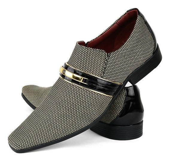 Sapato Social Masculino Original Envernizado Lançament Gofer
