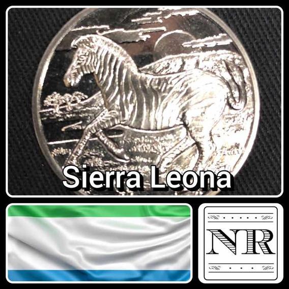 Sierra Leona - 1 Dolar - Año 2007 - Cebra - Km # 327