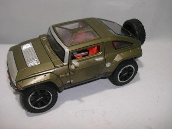 Carrinho Miniatura Hummer Maisto 1/24 Usada