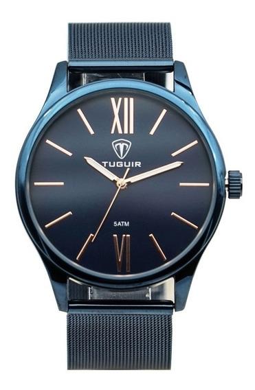 Relógio Unissex Tuguir Analógico 5316g Azul