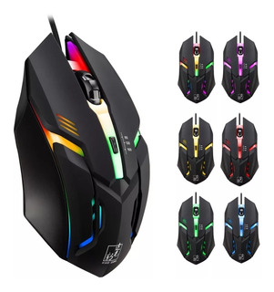 Mouse Gamer, Mouse Gaming, Luces Led,