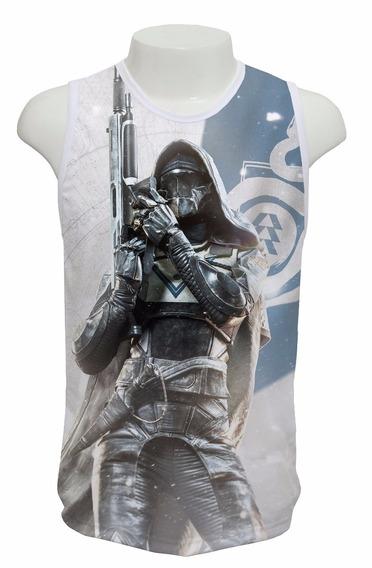 Camiseta Destiny 2 Caçador Mod 02 - Regata