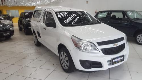 Chevrolet Montana Ls 1.4 Flex 2018 Branca Ar E Direção Nova.