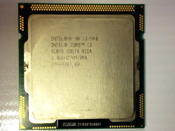 Intel Core I3 540 1ª Geração Socket 1156 3.06ghz 3101a478