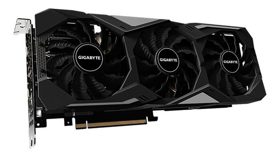 Placa de vídeo Nvidia Gigabyte GeForce RTX 20 Series RTX 2070 SUPER GV-N207SWF3OC-8GD OC Edition 8GB