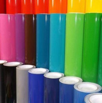 Imagen 1 de 4 de Vinil Adhesivo Por Metro 1.22x100cm Vinil Adhesivo Colores