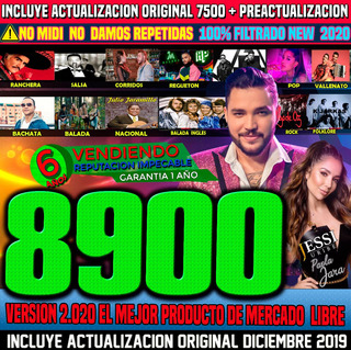 Ecuakaraoke 2020 Con 8900 No Repetidos +videos Update Diciem