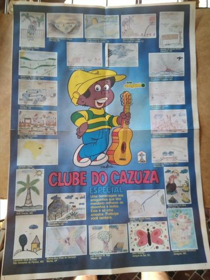 Álbum Pôster Clube Do Cazuza Especial Completo 1991