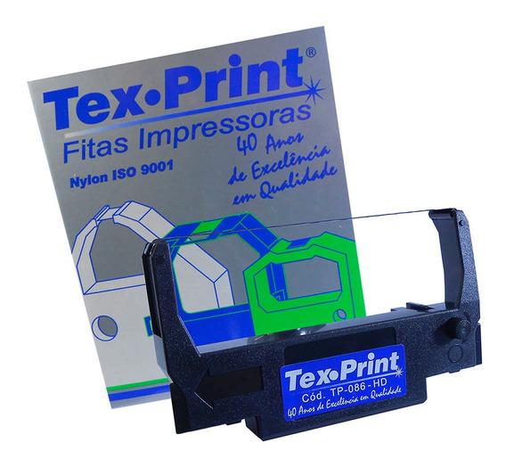 Fita Tex Print Tp-086 Hd Erc 30 34 38 Preta Cx/02