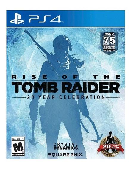 Rise Of The Tomb Raider Ps4 - Joga No Usuário Que Envimos