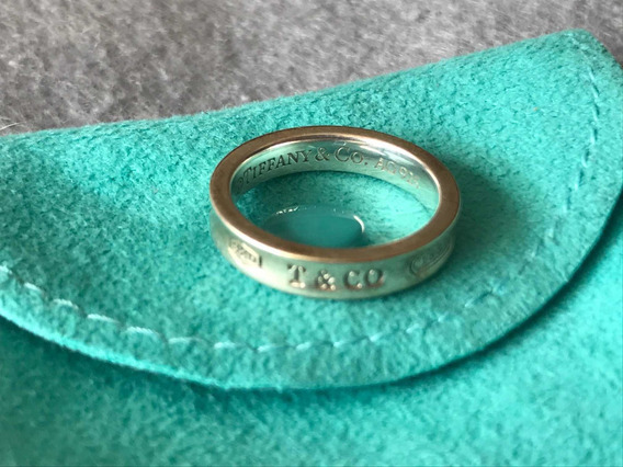 Anillo Tiffany And Co. Original 1937 De Plata