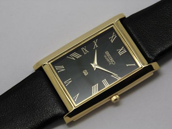 Reloj De Pulsera Seiko Hecho En Japón Chapa De Oro