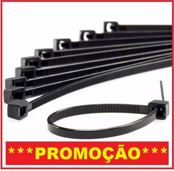 Abraçadeira Enforca Gato Nylon Pre/ 1.000 5x380mm + (brinde)