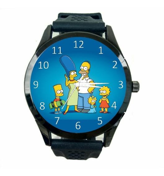 Relógio Os Simpsons Feminino Desenho Serie Animação Fc T714