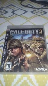 Call Of Duty 3 - Jogo Mídia Física Ps3 (conservado)