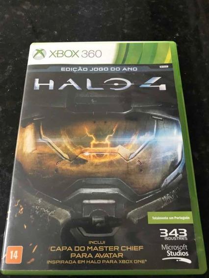 Jogo Xbox 360 Halo 4 Edição Jogo Do Ano Original Física