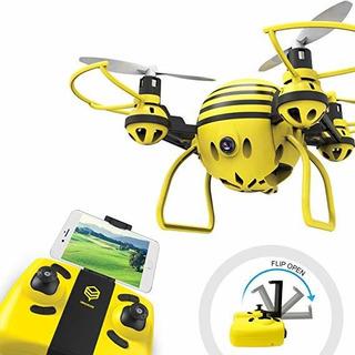 Hasakee Fpv Rc Aviones No Tripulados Con Hd Wifi Cámara De V
