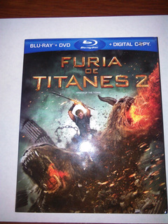 Furia De Titanes 2 Bluray + Dvd Original