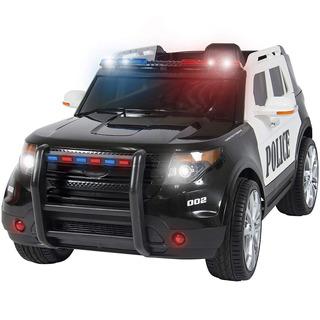 Carrito Carro Electrico Montable Policia Control Remoto Ford