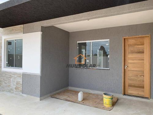 Casa Com 3 Dormitórios À Venda, 78 M² Por R$ 225.000 - Campina Da Barra - Araucária/pr - Ca1472