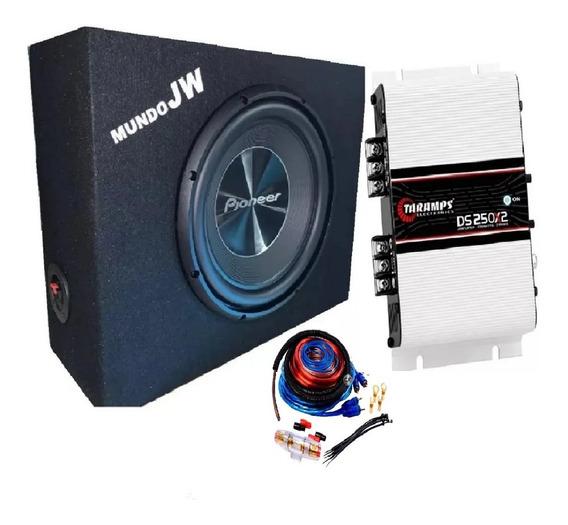 Combo Pioneer 300 + Potencia Sound + Cajon + Cable Nuevo 311