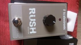 Pedal Rush Booster Da Tc Electronic Clean
