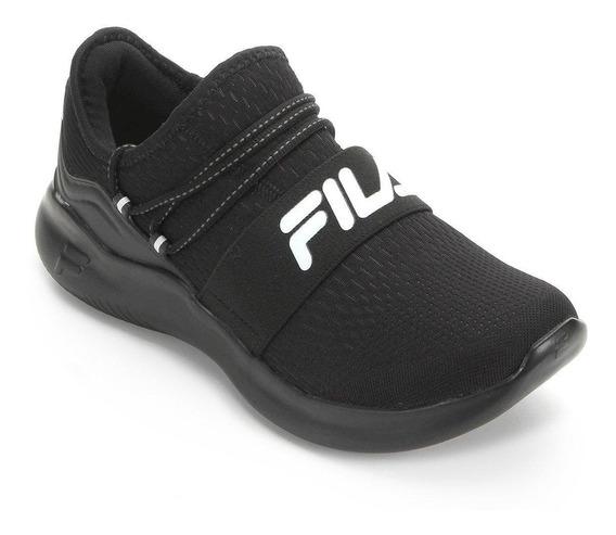 Tênis Fila Trend Masculino Preto 14616 Original
