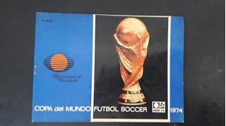 Guía Programa Copa Del Mundo Alemania 1974 Televisa