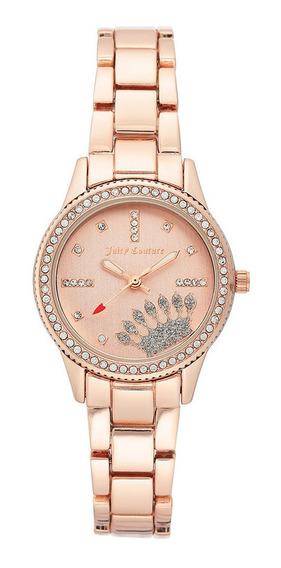 Reloj Juicy Couture Acero Correa Oro Rosado