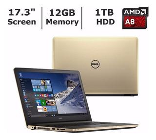 Dell Inspiron 17.3 Hd Amd A8 12gb 1tb A Pedido!